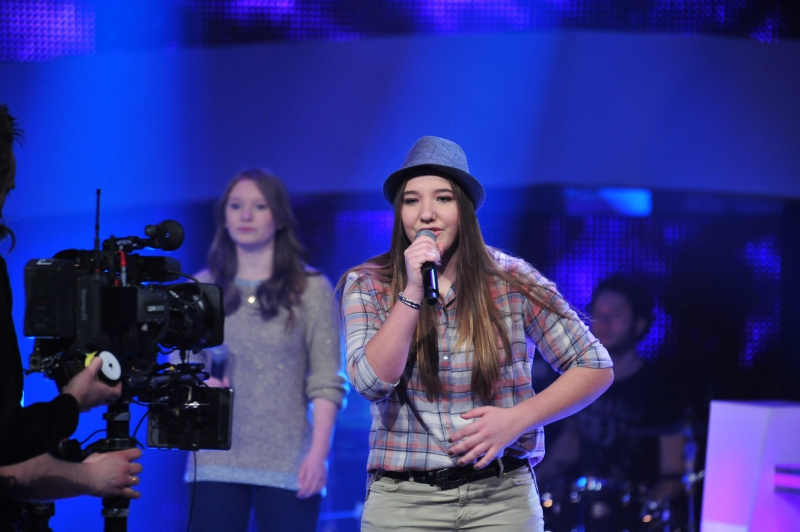 Julia und Selin Battleshow The Voice Kids