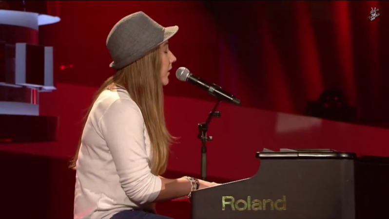 Screenshot aus den Blind-Auditions
